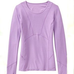 ATHLETA Canyon Land Long Sleeve Athletic Top XL